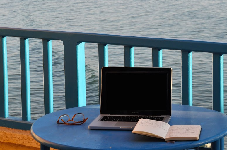 Laptop-sea